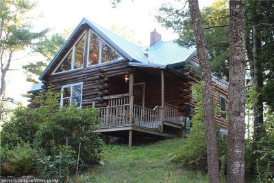 Single Family Home For Sale: 759 Lower Dedham Road