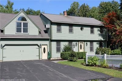 Scarborough ME Single Family Home For Sale: $549,000