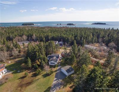 Gouldsboro Single Family Home For Sale: 160 Crowley Island Road