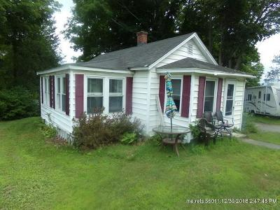 Veazie ME Single Family Home For Sale: $85,000