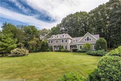 Falmouth Single Family Home For Sale: 5 Lower Falls Rd