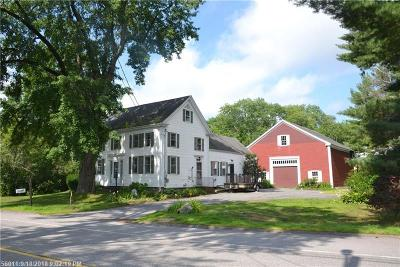 Falmouth Single Family Home For Sale: 220 Middle Rd