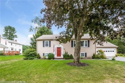 Kennebunk Single Family Home For Sale: 2 Forest Ln