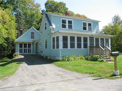 Single Family Home For Sale: 16 Free Street