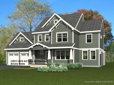 Kittery Single Family Home For Sale: Lot 12 Seward Farm Ln