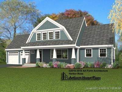 Kittery Single Family Home For Sale: Lot 1 Seward Farm Lane
