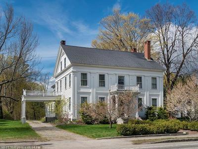 Kennebunk Single Family Home For Sale: 25 Summer Street