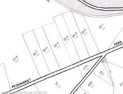 Residential Lots & Land For Sale: 0 Pequawket Trl