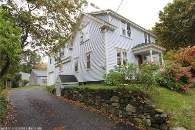 Kennebunkport Single Family Home For Sale: 35 North St