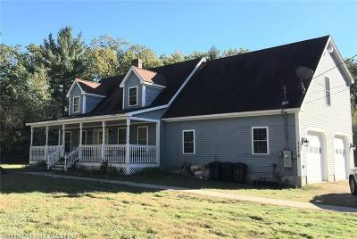 Waterboro Single Family Home For Sale: 1110 West Rd