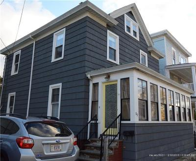 Bangor Single Family Home For Sale: 89 Cumberland St