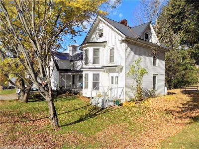 Single Family Home For Sale: 20 Maple Street
