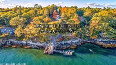 Yarmouth Single Family Home For Sale: 268 Little John Road