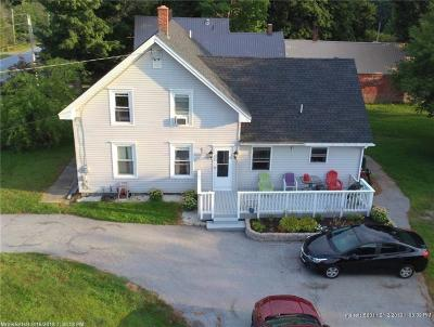 Hampden Single Family Home For Sale: 482 Main Road