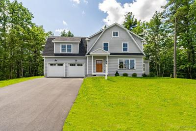 Falmouth Single Family Home For Sale: 33 South Ridge Road Lot 16