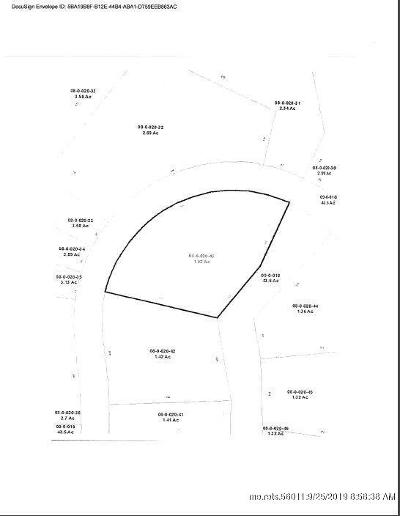 Hampden Residential Lots & Land For Sale: Lot 43 Dunton Cir