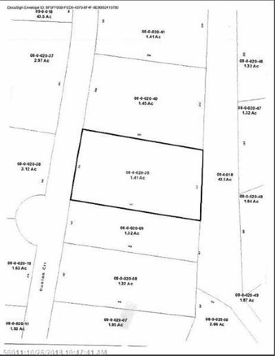 Hampden Residential Lots & Land For Sale: Lot 39 Dunton Cir