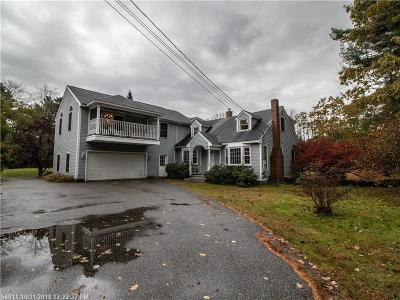 Kennebunk Single Family Home For Sale: 121 Sea Road