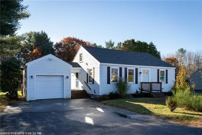 Kennebunk Single Family Home For Sale: 142 Western Avenue