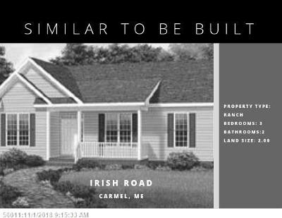 Single Family Home For Sale: Lot 6 Irish Road