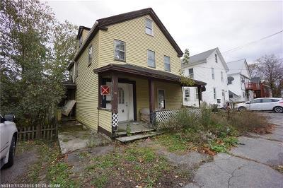Bangor ME Multi Family Home For Sale: $20,000