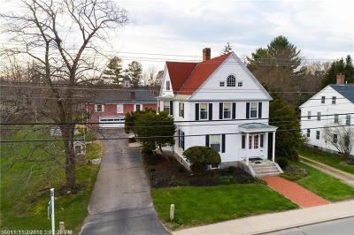 South Berwick Single Family Home For Sale: 99 Portland St