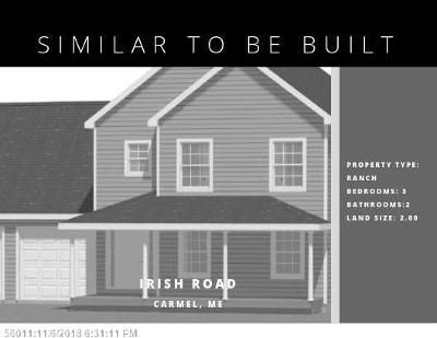 Single Family Home For Sale: Lot 4 Irish Road