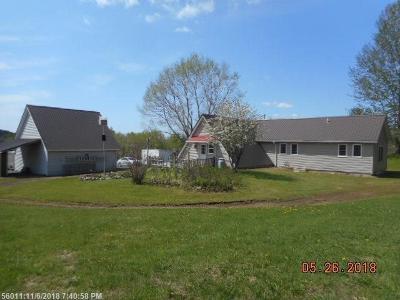 Fort Fairfield Single Family Home For Sale: 109 Sam Everett Rd