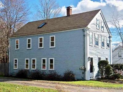 Kennebunk Single Family Home For Sale: 20 Water Street
