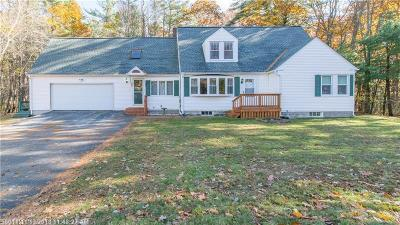 Kennebunk Single Family Home For Sale: 145 Alewive Rd