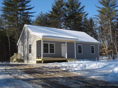 Limington Single Family Home For Sale: Lot #1 Mavis Drive