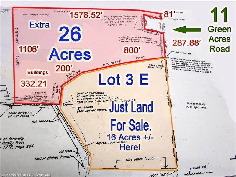 Danforth Maine Map.Lot 3e Schillinger Road Danforth Me Mls 1376840 Michael