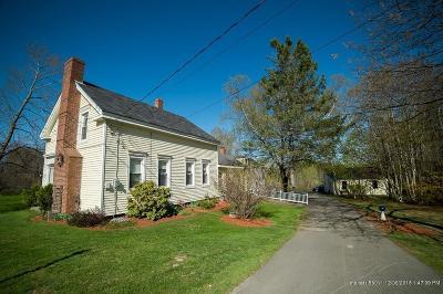 Hampden Single Family Home For Sale: 337 Main Road