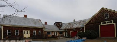 Waterboro Single Family Home For Sale: 230 Roberts Ridge Road