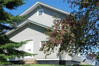 Caribou Single Family Home For Sale: 35 Teague Street