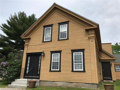 York Single Family Home For Sale: 746 Us Route One