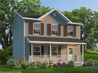 Single Family Home For Sale: Lot 8 Stony Ridge