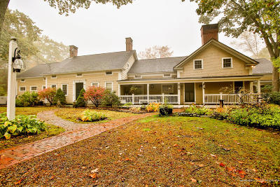 York Single Family Home For Sale: 112 & 116 Shore Road