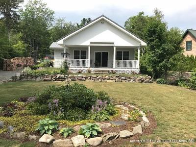 Westmanland Single Family Home For Sale: 831 Little Madawaska Lake Road