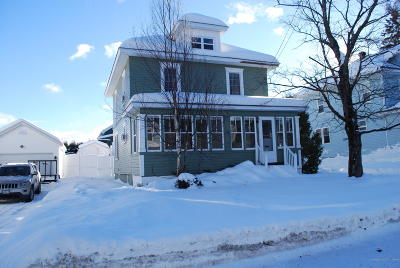 Madawaska Single Family Home For Sale: 138 Fraser Avenue
