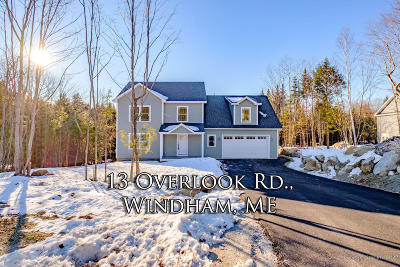 Windham Single Family Home For Sale: 13 Overlook Road