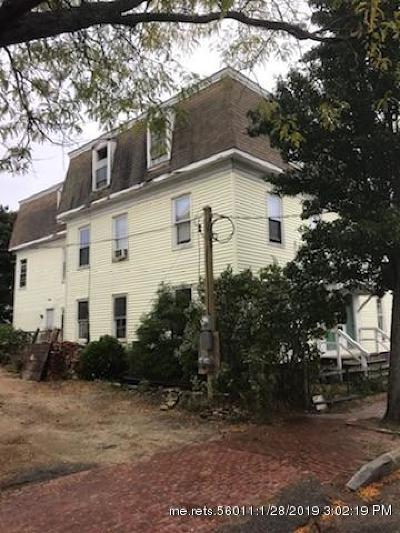 Portland Multi Family Home For Sale: 21 Merrill Street