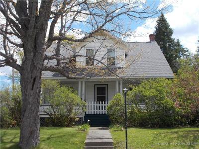 Presque Isle ME Single Family Home For Sale: $99,900