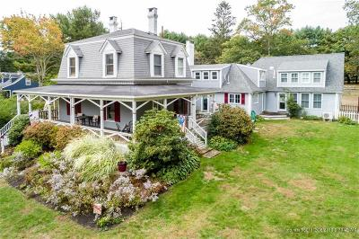 Falmouth Single Family Home For Sale: 338 Foreside Road