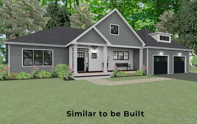 Wells Single Family Home For Sale: Lot #29 Waters Edge Drive