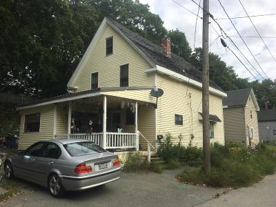 Bangor ME Single Family Home For Sale: $55,000