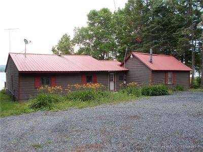 Portage Lake Single Family Home For Sale: 384 West Road