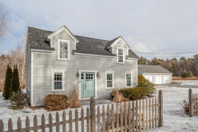 Kennebunkport Single Family Home For Sale: 18 Old Cape Road Road