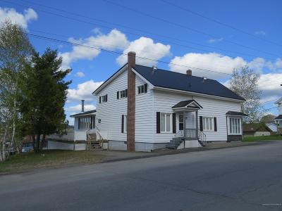 Madawaska Single Family Home For Sale: 111 11th Avenue