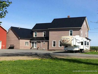 Presque Isle ME Single Family Home For Sale: $270,000